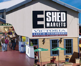 The E Shed Markets - Attractions Perth